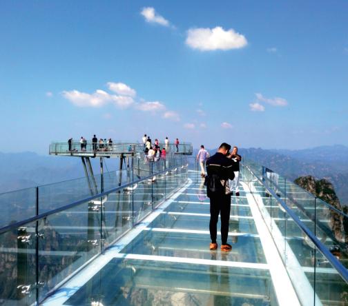 景区玻璃观光台